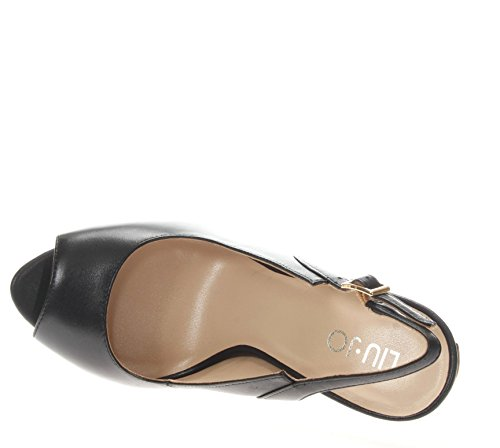 Donna TC Sandalo Tacco Liu Black S18013P005522222 Jo Sandali 120 Open Toe TOW8Wq5an