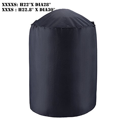 Laserstore BBQ Grill Cover, Round 30-Inch Waterproof, 210...