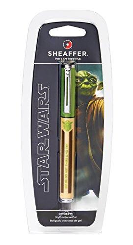 Sheaffer Star Wars Yoda Pop Rollerball Pen in Retail Packaging (E1921051S)