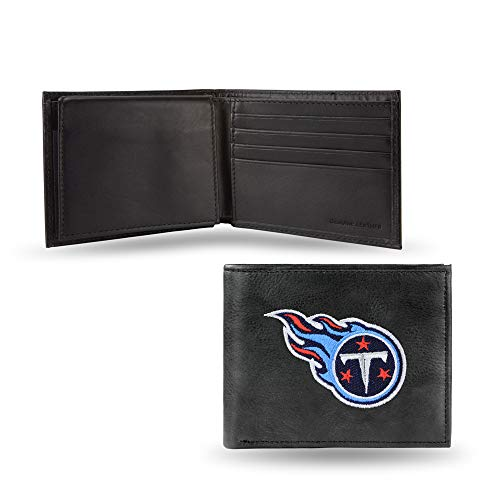 NFL Tennessee Titans Embroidered Leather Billfold Wallet