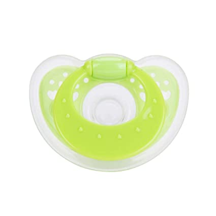 TINERS Full Silicone Baby Chupete Pezón Tipo Chupete: Amazon.es: Hogar