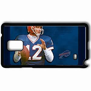Personalized Samsung Note 4 Cell phone Case/Cover Skin 1235 buffalo bills Black
