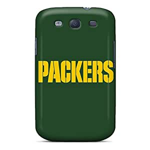 New Style Hladdy Hard Case Cover For Galaxy S3- Green Bay Packers 3