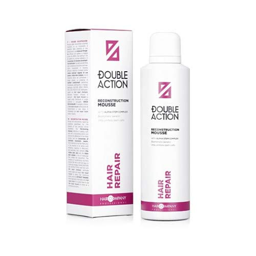 Hair Company Double Action Hair Repair Reconstruction Mousse 200ml