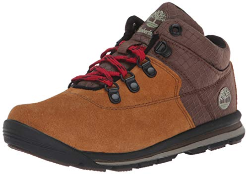 (Timberland Unisex GT Rally Mid  Boot, Brown Suede, 7 Medium US Big Kid)
