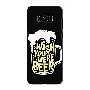 Cover It Up - Wish You Were Beer Galaxy S8 Plus Hard Case