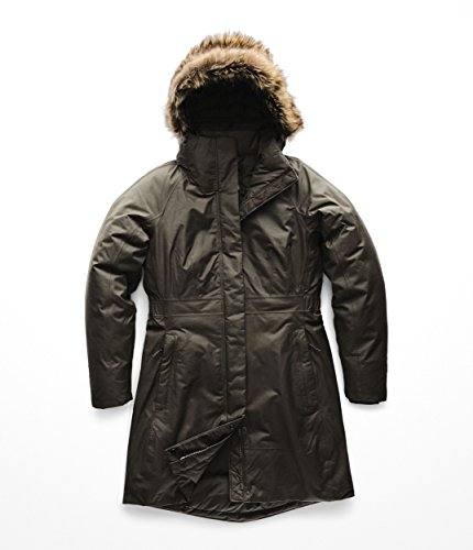 The North Face Women's Arctic Parka II - New Taupe Green - XL (North Face Dog Collar)