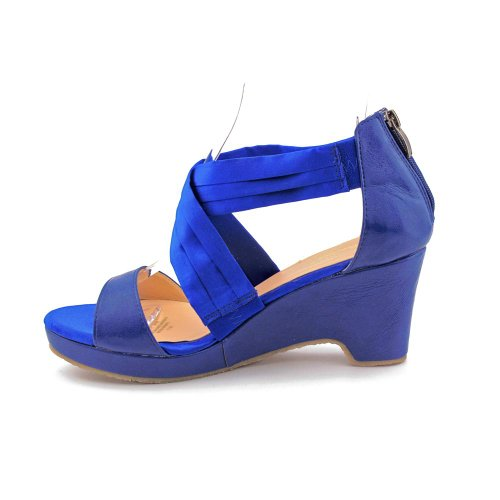 Sandales Blue Criss Compensées Aana Femmes Beacon CwtUqZO