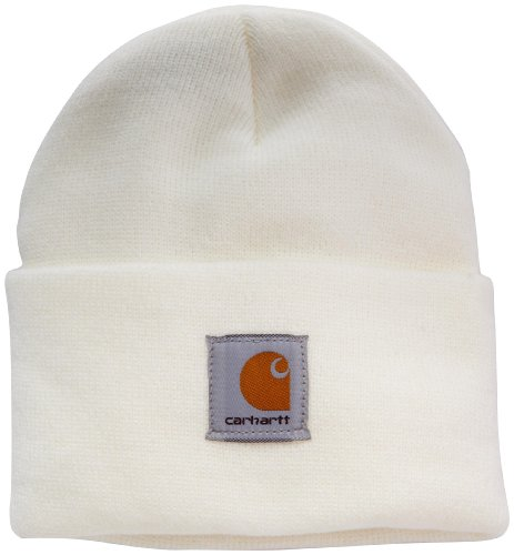 Carhartt Women's Acrylic Watch Hat, Winter White, One Size