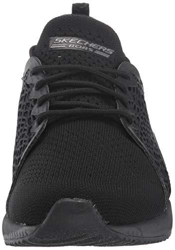 Skechers Bbk Zapatillas pocket black Squad Para Bobs Mujer Ace Negro black 4qr4w7Z1xB
