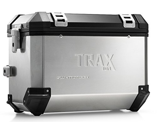 SW-MOTECH TRAX ION 45-Liter Side Case - Right | Aluminum Silver ()