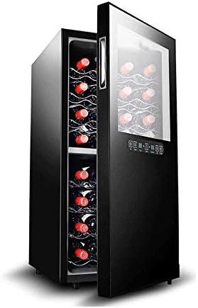 YFGQBCP Zona dual del refrigerador de vino Frigorífico - 24 Botella integrado o independiente libre de heladas compresor refrigerador de vino, funcionamiento silencioso termoeléctrica Vino Frigorífico