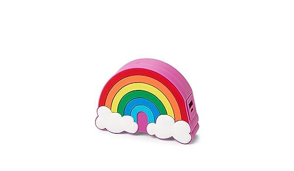 Luv Betsey Johnson Rainbow Cargador portátil Banco de la ...