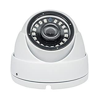 Taber 5MP Dome Camera 2k TVI/AHD/CVI/960H 4 in 1, 3.6mm Wide Angel Lens, Night Version up to 65ft, Surveillance Cameras