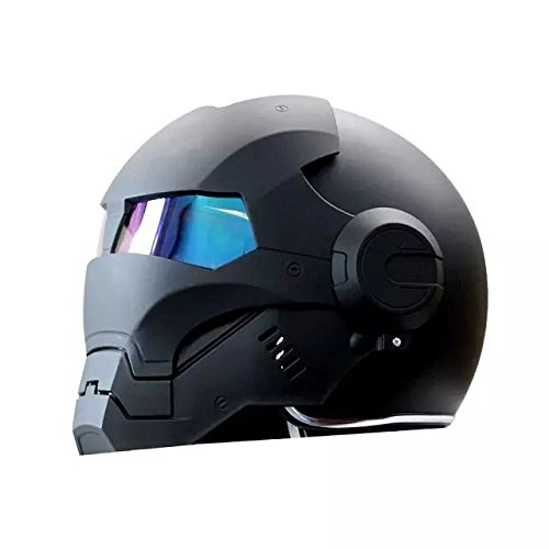 masei 601 high quality atomic man motorcycle dot helmet classic style half helmet black l. Black Bedroom Furniture Sets. Home Design Ideas