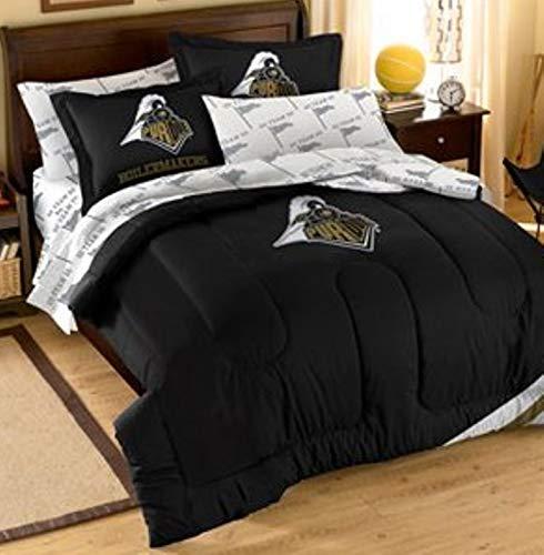 Northwest NCAA Purdue Boilermakers Applique Full Bedding Set #22984302