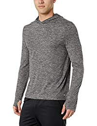 Men's Tech Stretch Long-Sleeve Performance Pullover Hoodie