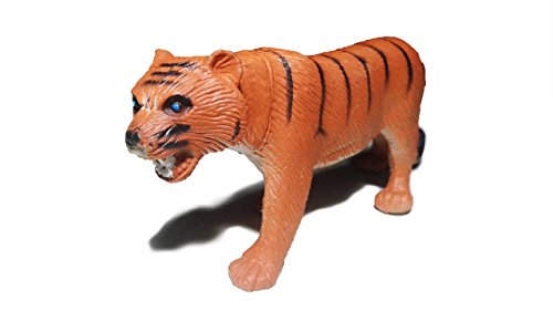 Hand Painted Childrens Tiger (Perfect baby toys – Tiger - 100% made of natural rubber - hand painted - BPA Free, Phthalate-free)