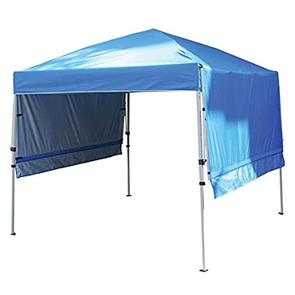 Rite Aid Home Design Double Awning Gazebo Sun Shelter Canopy Blue