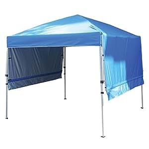 Rite Aid Home Design Double Awning Gazebo Sun Shelter Canopy Blue Garden Outdoor