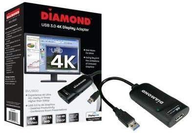 Best Data Diamond UGA USB 3.0//2.0 to Ultra Hd 4k