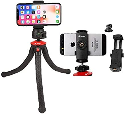 Fotopro – Trípode de Mesa Flexible con rótula Ball – UFO 2 Plus + ...