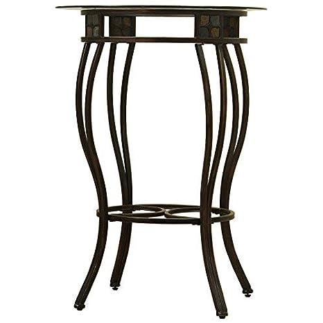 Boraam 70416 Beau Metal Pub Table 36-Inch