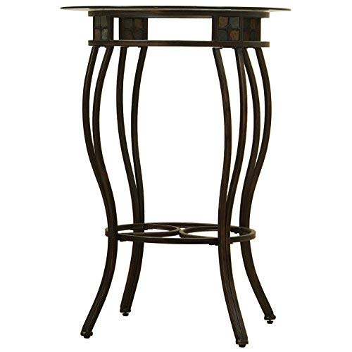 Boraam 70416 Beau Metal Pub Table, 36-Inch ()