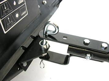 Turfmaster - Escoba con recogedor para cortacésped, de ...