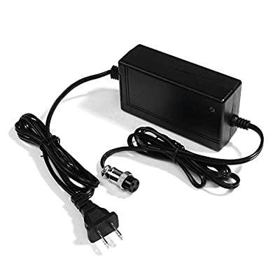 48W 24V 2A 3-Prong Inline Scooter Battery Charger for Razor CC2420, Razor Ground Force, Razor Pocket Rocket, Razor Rebellion, Razor Pocket Mod, RAZOR E100 E200 E300 E125 E150 E500 : Sports & Outdoors