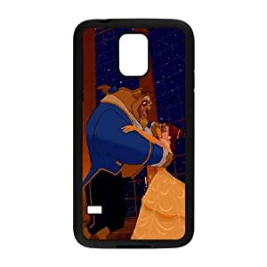 Beauty and the Beast The Enchanted Christmas Samsung Galaxy S5 Cell Phone Case Black
