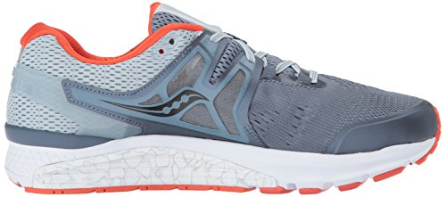 3 Black ISO Blue ZUCATILLA Gris 1 saucony Hurricane Red S20348 awHC8qX