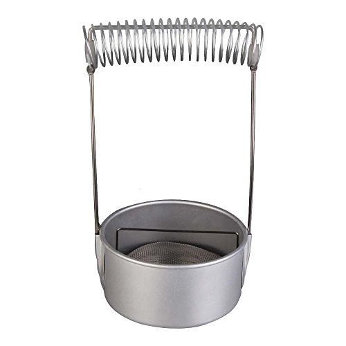 Brush Washer with Drying Rack and Screen