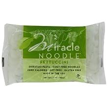 Miracle Noodle Shirataki Fettuccini Pasta 7 oz (pack of 1)
