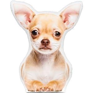 LiLiPi Chihuahua Fawn Shaped Pillow | Polyester