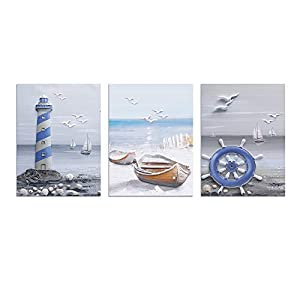 41BnjY6aNfL._SS300_ Beach Wall Decor & Coastal Wall Decor