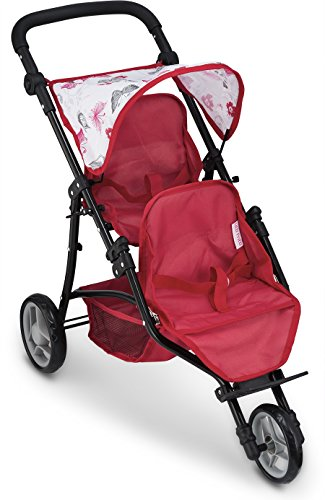 Double Baby Stroller For Dolls - 3