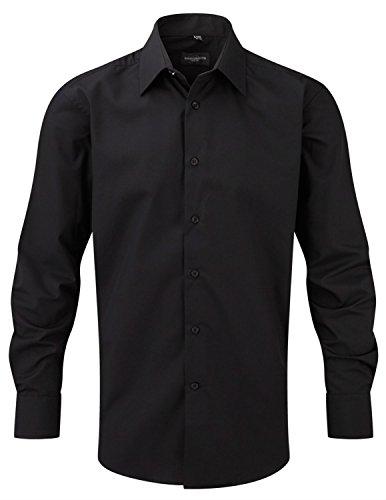 Russell Athletic Herren Business-Hemd XXL Gr. XXXX-Large, schwarz