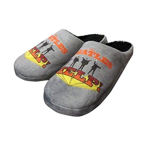 The Beatles help me pantofole da uomo, Mens 7-8