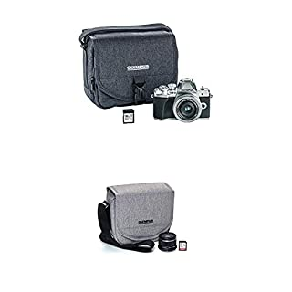 Olympus OM-D E-M10 Mark III Camera Kit with 14-42mm EZ Lens (Silver), Camera Bag & Memory Card, Wi-Fi Enabled, 4K Video, US ONLY with Step Up Kit