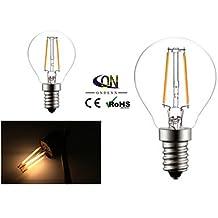 ONDENN E14 2 W 2 COB 200 LM 2800-3200K K Warm White A Globe Bulbs AC 220-240 V ( Light Source Color : Warm White , Voltage : 220-240V )