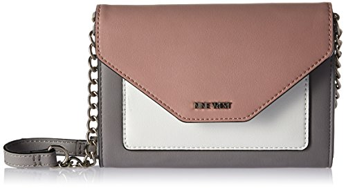 Nine West Aleksei Crossbody, Mist/Modern Pink/Optic White by Nine West