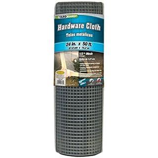 YARDGARD 308199B Hardware Cloth 24 Inch x 50 Foot, Silver (B000RZFO2W) | Amazon Products