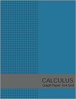 calculus graph paper 4x4 grid 4 squares per inch graph paper 8 5