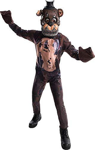Rubie's Costume Boys Five Nights at Freddy's Nightmare Fazbear Costume, Medium, Multicolor -