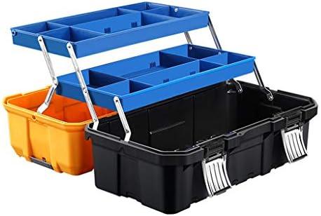 ツールボックス、家庭用およびプロフェッショナル用ツールボックス、ストレージツールオーガナイザーおよびツールストレージ用ツールボックス、ロック蓋およびハンドル付き