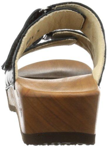 WoodyMelina - Mules Mujer, color Negro, talla 35