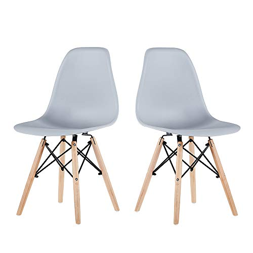 Romatlink Plastic Chair, Plastic Side Chair, Modern Style Dining Chair, Leading The Trend of Fashion and Comfort, Simple Style Design, Stylish and Beautiful ,Kitchen Living Room Dining Chair