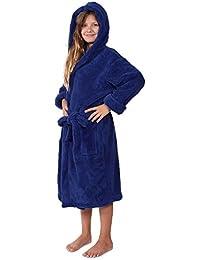 Indulge Plush Hooded Robe for Kids 7d924b62b