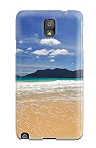 New RManKqg290XaHVo Small Waves On The Beach Tpu Cover Case For Galaxy Note 3